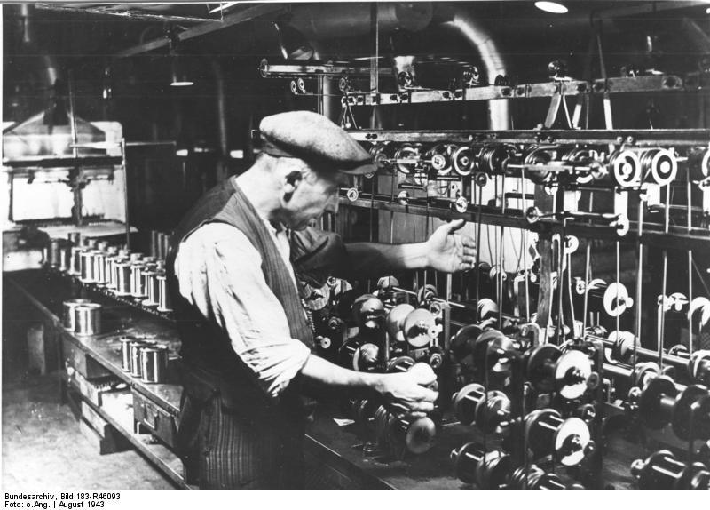 Belgischer Zwangsarbeiter bei Siemens